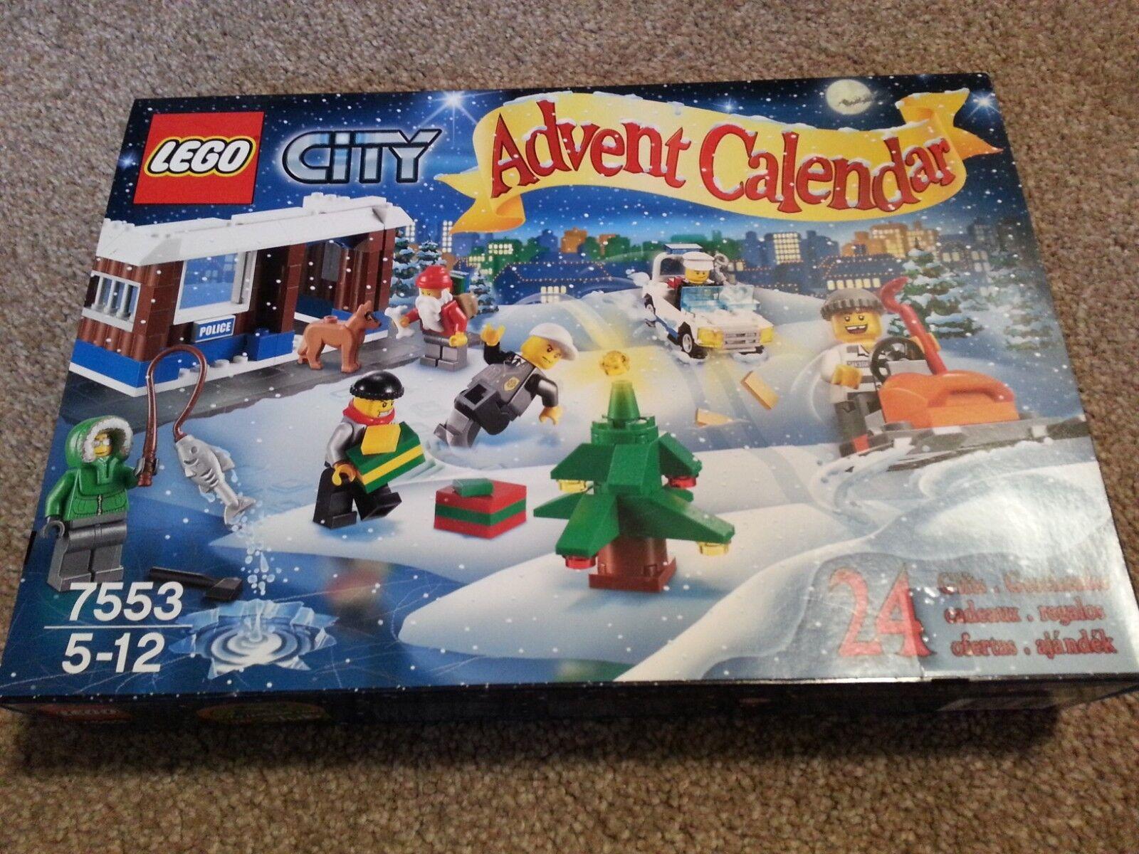 Lego City Advent Calandar 7553