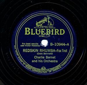 CHARLIE BARNET and his Orchestra on 1940 Bluebird B-10944 - Redskin Rhumba