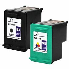 2PKs HP 94 95 Ink Cartridges For PSC 1600 2350 1610 2355 1610v 2355v 2355xi