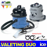 Car Interior Seat Carpet Upholstery Valeting Wet & Dry Vacuum Cleaner Machines