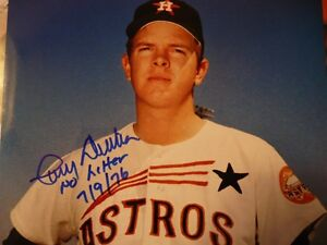 LARRY-DIERKER-signed-autographed-ASTROS-8x10-photo-IP-7-20-13