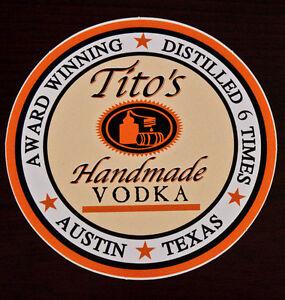 Tito s Handmade Vodka Collector s Bumper Sticker NEW #0: s l300