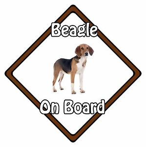 Non-Personalised-Dog-On-Board-Car-Safety-Sign-Beagle-On-Board