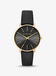 Michael-Kors-Pyper-Crystal-Black-Dial-Men-039-s-Watch-MK2747