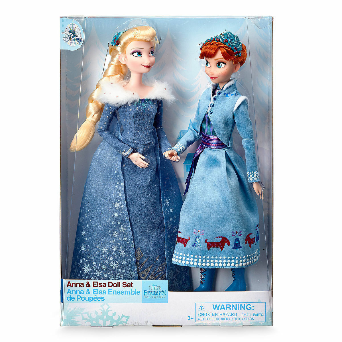 Anna and Elsa Doll Set - Olaf's Frozen Adventure