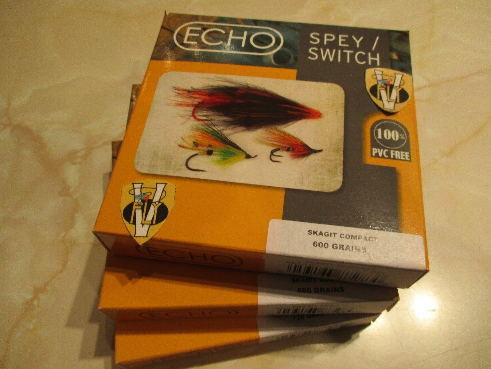 Nuevo Echo F I S T Skagit compacto de triple  densidad Spey Skagit líneas mosca  comprar mejor