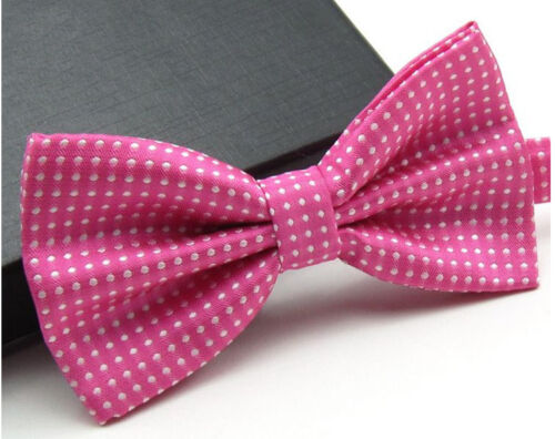 Men/'s Fashion Tuxedo Classic Polka Dots Adjustable Wedding Party Bowtie Bow Tie