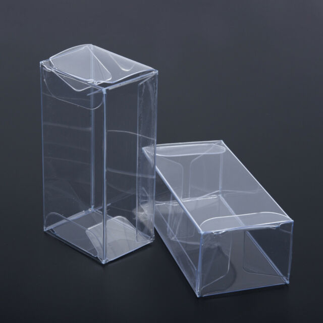 20x Display Box 1//64 Clear Plastic PVC Show Case For Diecast Model Toy Car Auto