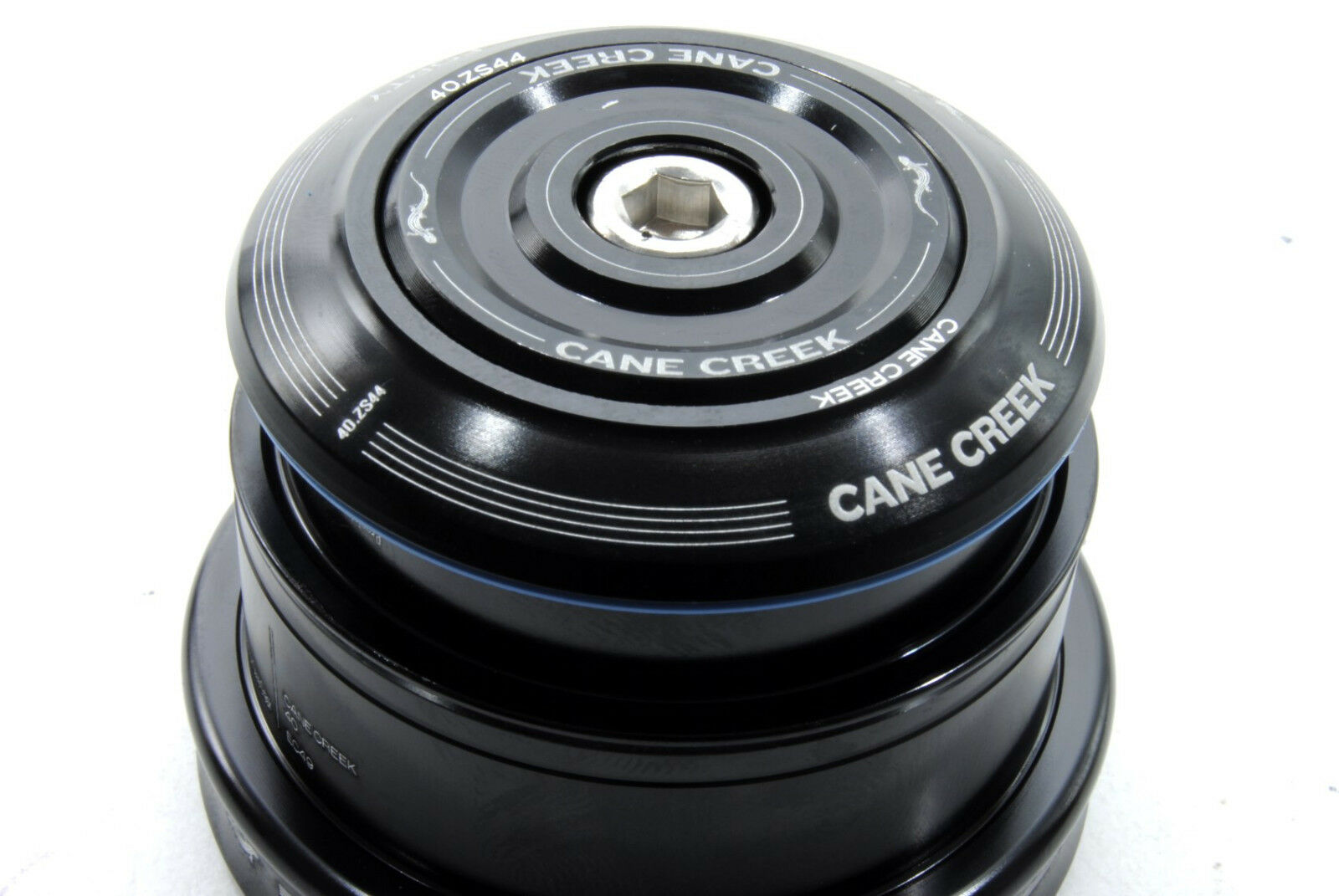 Cane Creek 40 ZS44//28.6 EC49//40 Tapered Headset Tapered Steerer Black Bicycle