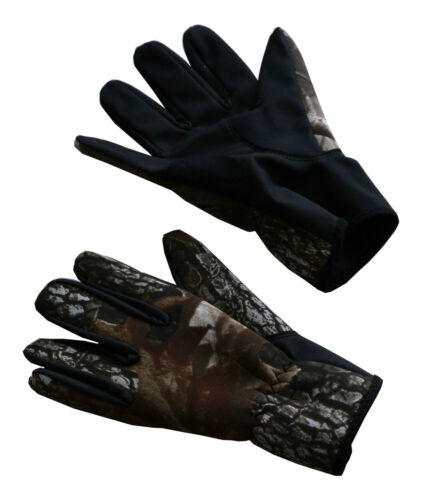 Camo Neoprene Gloves PU Palm Non-slip Waterproof size M Hunting Gloves