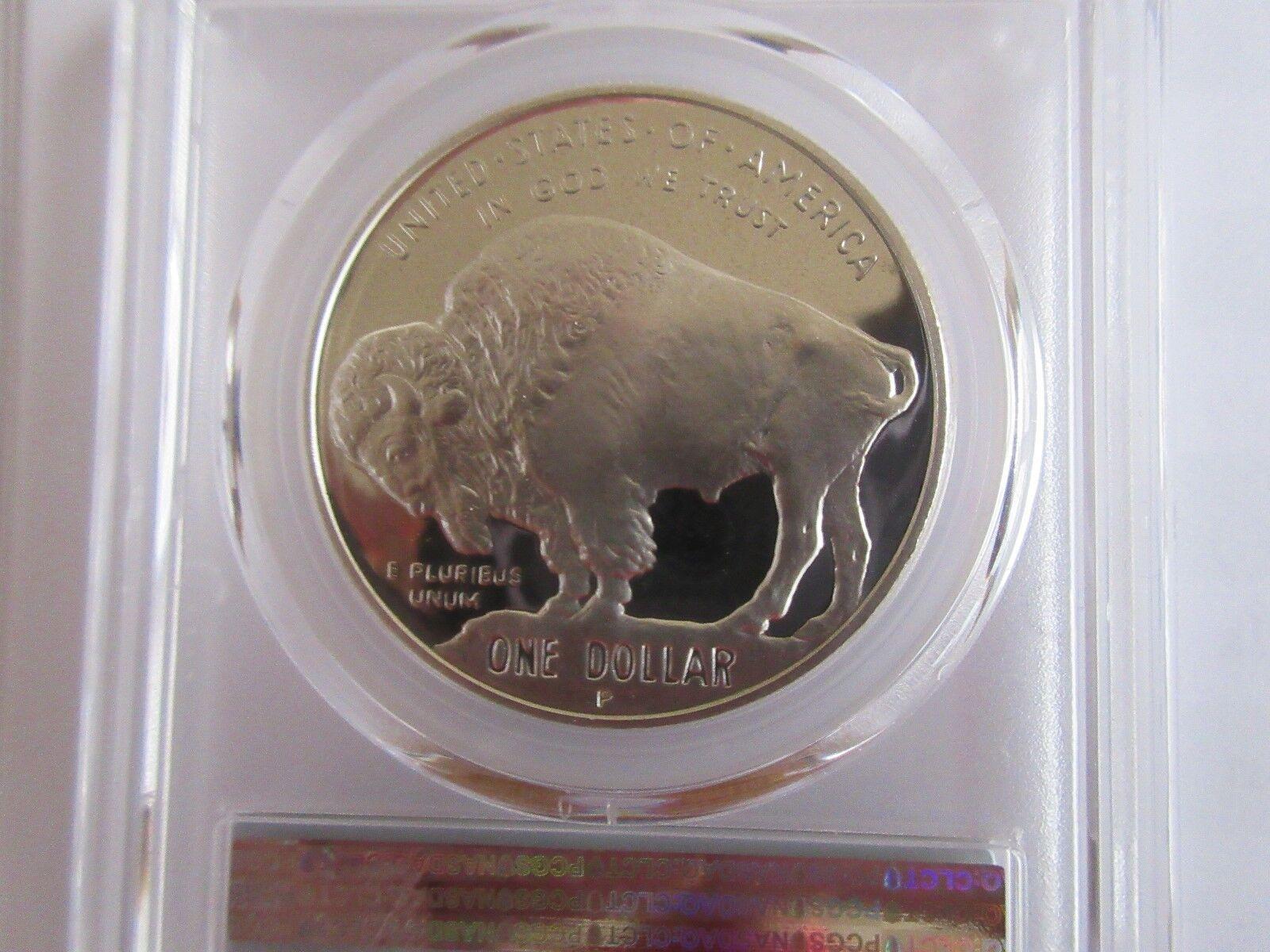 2001-P American Buffalo Black Diamond PCGS PR70DCAM