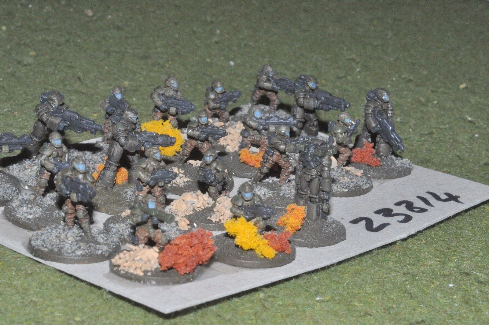 15mm scifi   human - marines 20 figures - inf (23814)