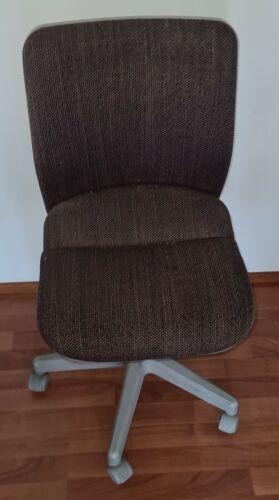 Drehstuhl Bürostuhl verstellbare Stuhl Sitz aus Stoff mit Räder Lehnbar