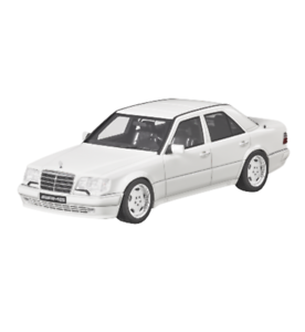 Mercedes Benz W 124 E 60 AMG White Limited 1 18 New OVP