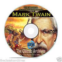 Mark Twain - 100 Audiobooks Collection, Classic Literature, Huck Finn ++ Dvd B74