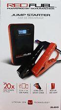 Schumacher SL65 Red Fuel 8,000mAh Lithium Portable Power Jump Starter NEW