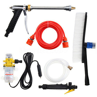 Portable 12V 100W 160PSI High Pressure Car Electric Washer Auto Wash Pump Set