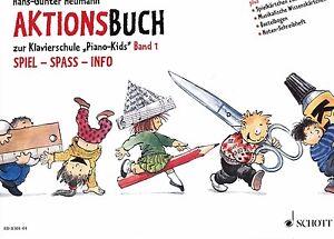 Klavier-Noten-Aktionsbuch-1-zu-Piano-Kids-Band-1-Schule-Heumann-Anfaenger