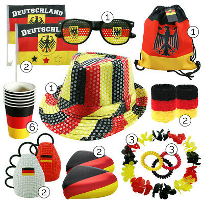 "Partyband /""FAN-ZONE/"" 6m Deutschland WM Fanartikel"