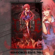 The Future Diary Gasai Yuno Mirai Nikk Japan Anime Wall Scroll Poster Decor Gift