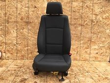 29K! BMW E84 X1 PASSENGER RIGHT LEATHER SEAT AIRBAG AIR BAG BLACK OEM