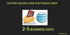 AT&T Nokia Lumia 520, 521 , 635, 820, 830, 900, 920 1520, 2520 unlock code Fast
