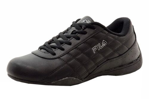 9.5 Fila Men/'s Kalien-Q Black Fashion Motorsports Sneakers Shoes Sz