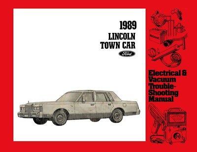 1989 Lincoln Town Car Electrical Vacuum Diagnostic ...