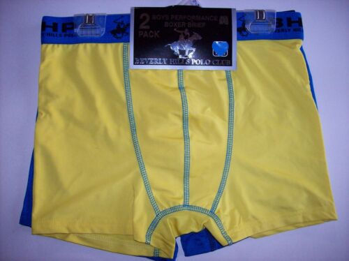 Beverly Hills Polo Club Underwear Underpants 2 Boys Boxer Brief Sz S M L XL NIP