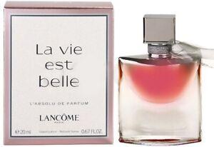 Lancome-La-Vie-Est-Belle-L-039-Absolu-20ml-Eau-de-Parfum-Spray