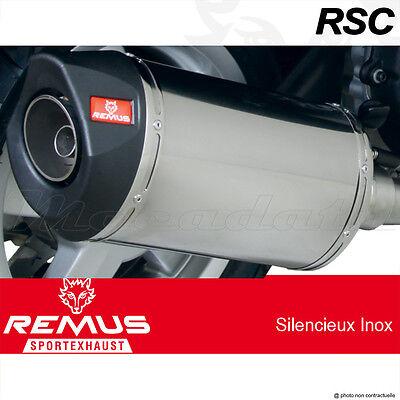 Silencieux Pot échappement Remus RSC Inox sans Catalyseur KTM 200 Duke 12 >