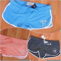 Hollister Curved Hem Athletic Shorts Large 3 Colors Available