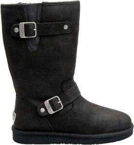 3e390323684 Details about 1005374 Women's Australia UGG Sutter Boot!! BLACK!!  Water-Resistant!!