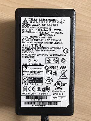 Delta Electronics AC Power Adapter ADP-29EB 74-3454-01 5.2V 4400mA 26W Cisco