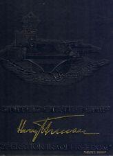 ☆ USS HARRY S. TRUMAN CVN-75 IRAQI FREEDOM DEPLOYMENT CRUISE BOOK YEAR 2003 ☆
