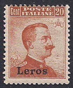 EGEO-LEROS-1917-20-c-MICHETTI-n-9-INTEGRO-175