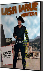 LASH-LARUE-20-MOVIE-WESTERN-COWBOY-DVD-COLLECTION-NEW