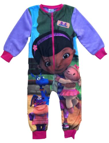 Doc McStuffins All in One Sleepsuit Pyjama Filles Pyjamas Âges 2 To 8 ans