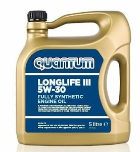Quantum Longlife 5w 30 Fully Synthetic Engine Oil 5 Litre Bottle Zgb115qlb00501 Ebay
