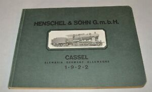 Original-1922-Henschel-Locomotive-Catalog-Cassel-Germany