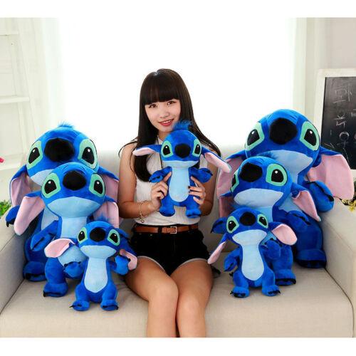 60CM Giant Large Big Lilo Stitch Stuffed animals Plush Baby Soft Toys Doll gift