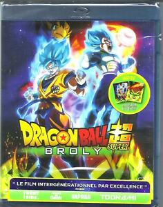 DRAGON-BALL-SUPER-BROLY-BLU-RAY-NEUF-SOUS-BLISTER