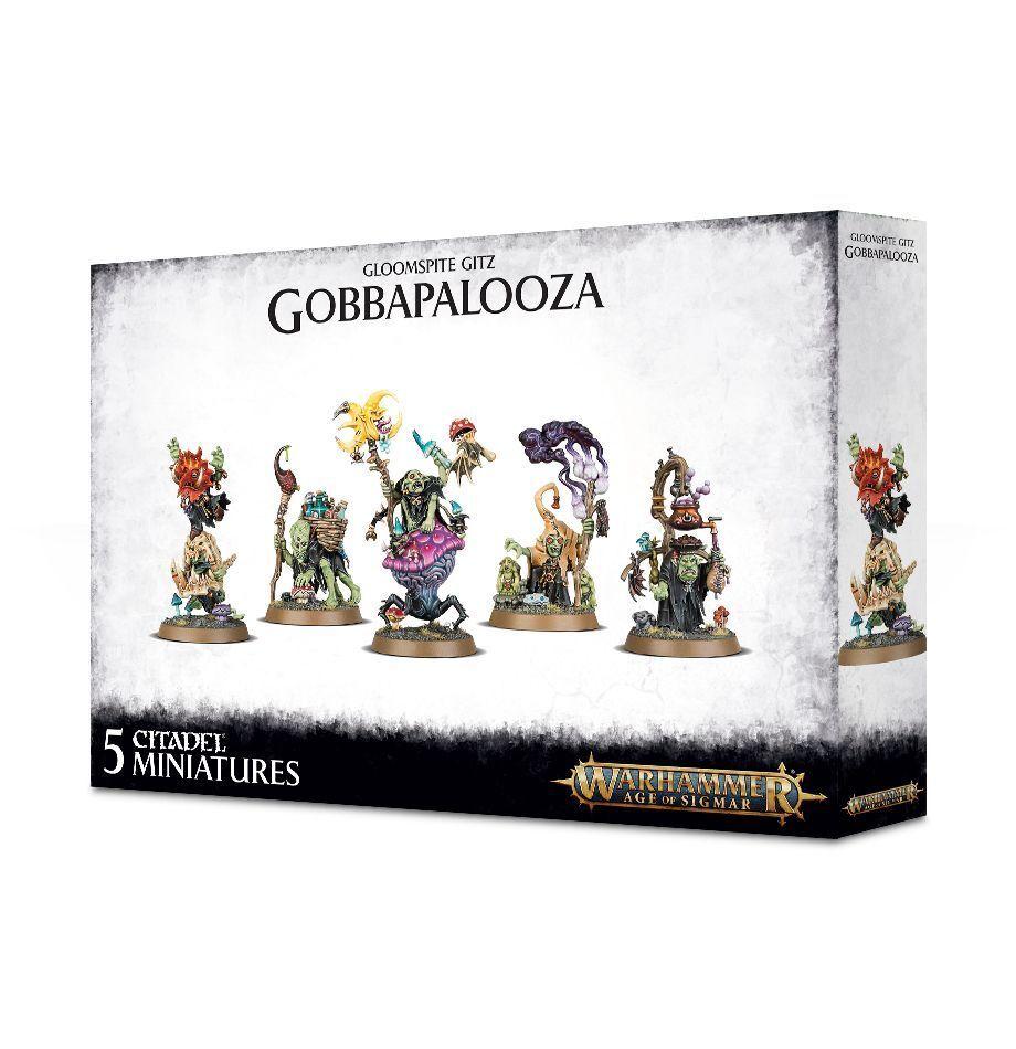 Warhammer Age of Sigmar  Gloomspite Gitz Gobbapalooza GW 89-51 89-51 89-51 NIB ca09e3