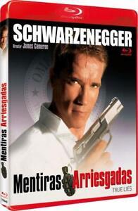 True Lies 1994 Arnold Schwarzenegger Jamie Lee Curtis New Sealed Blu Ray 8435479605487 Ebay