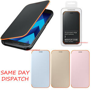 newest 370ec 2721b Details about Genuine Samsung FLIP CASE GALAXY A5 2017 smartphone book  cover original wallet