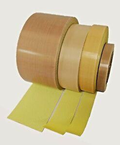 10mm x 15m Packaging heat resistant Teflon tape self adhesive backed Sealers