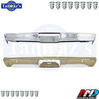 1971-1972 Plymouth Duster Front & Rear Bumper Kit Amd With Bolts W/ Jack Slots