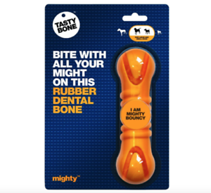Tasty-Bone-Rubber-Dental-Bone-Dog-Chew-Toy-Small-and-Large-Dogs