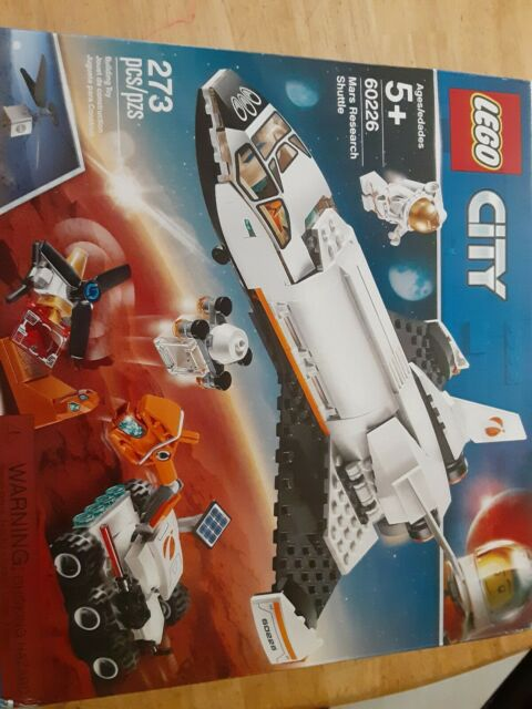 LEGO City: Mars Research Shuttle (60226). New In Sealed Box.