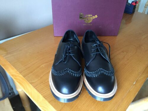 8 In Black Shoes Martens Eu England Beaumont Made Uk Weaver Leather Dr 42 qAp0O
